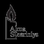 Almastearinlys